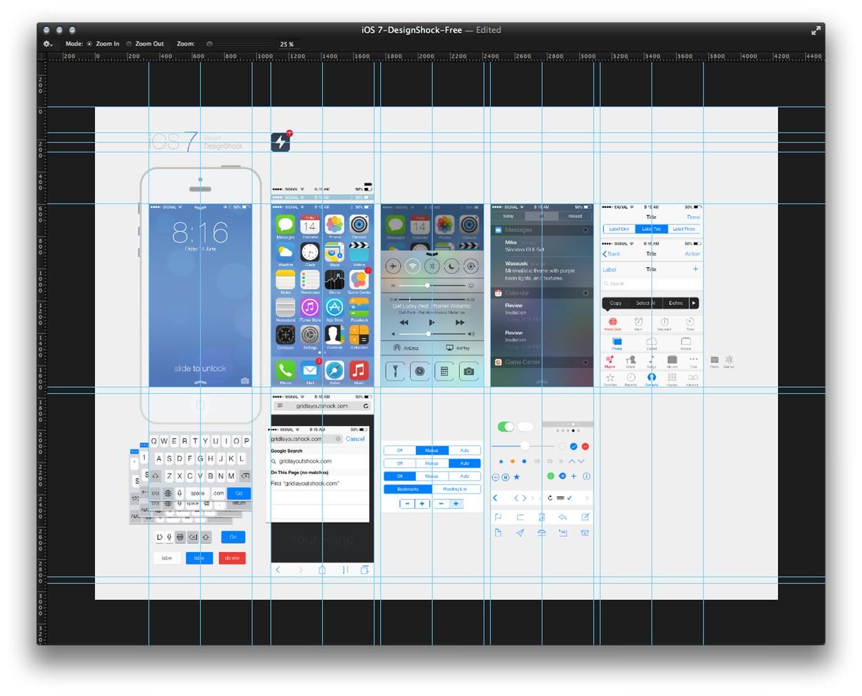 IPhoneBlog de iOS7 Design