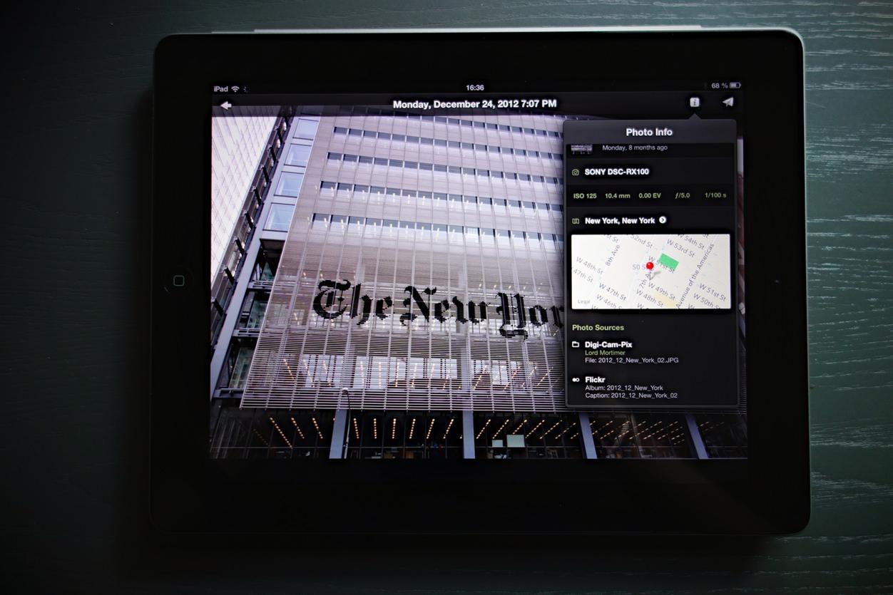 IPhoneBlog de Everpix iPad