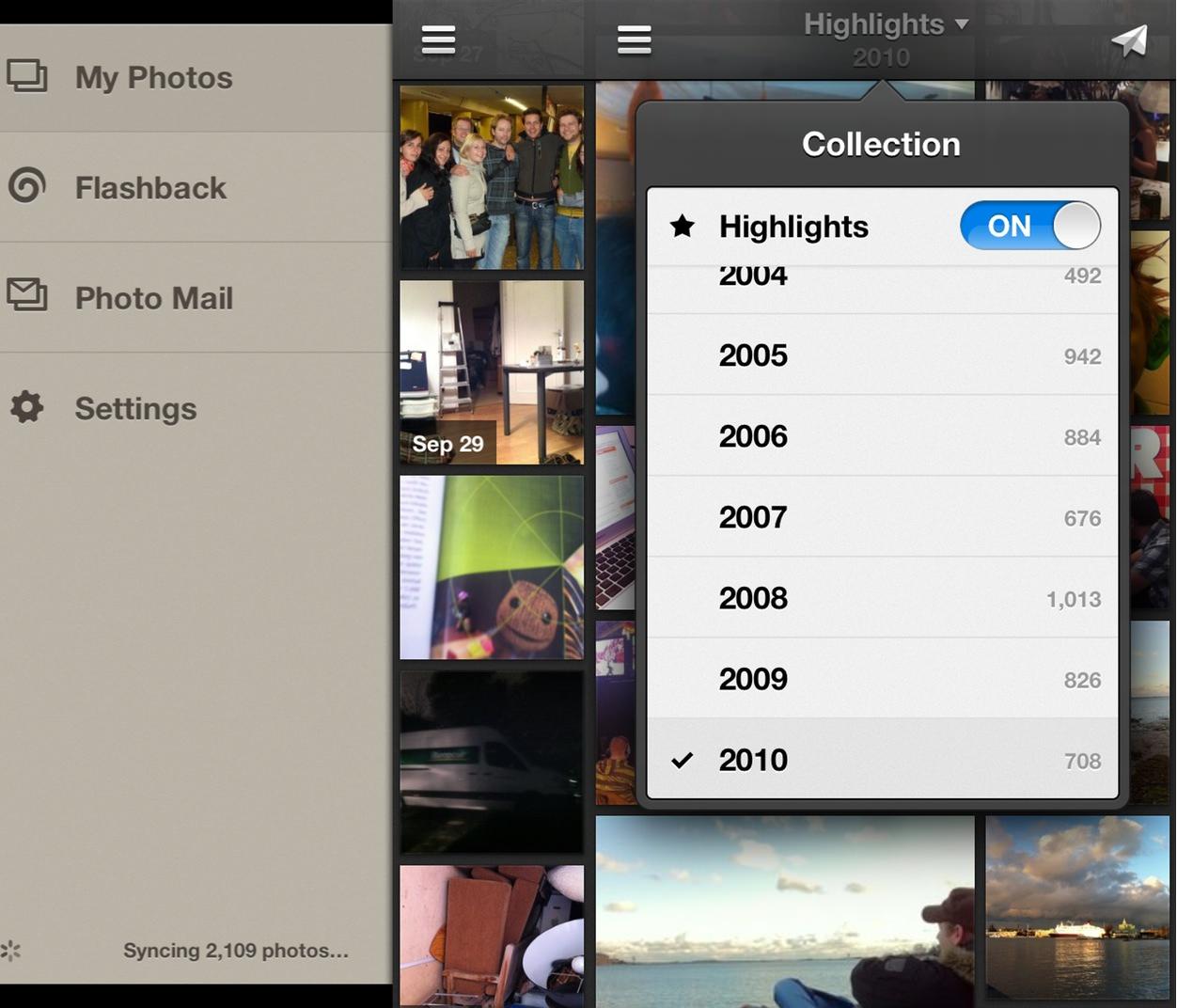 IPhoneBlog de Everpix iPhone