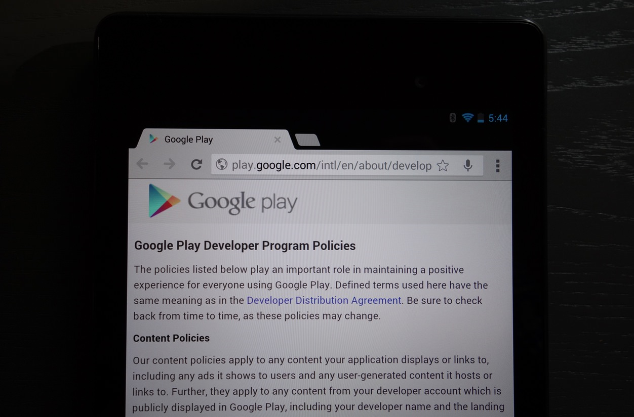 IPhoneBlog de Google Play Policies