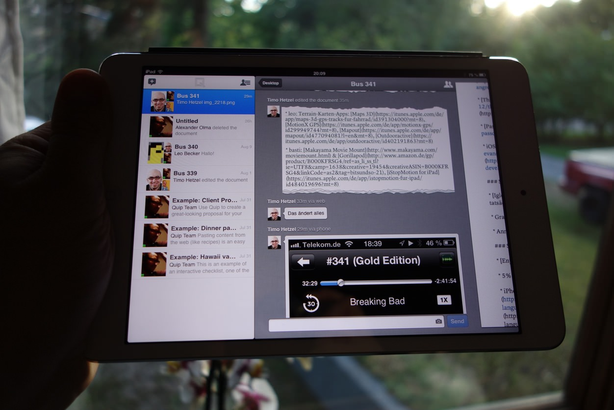 IPhoneBlog de Quip aendert alles