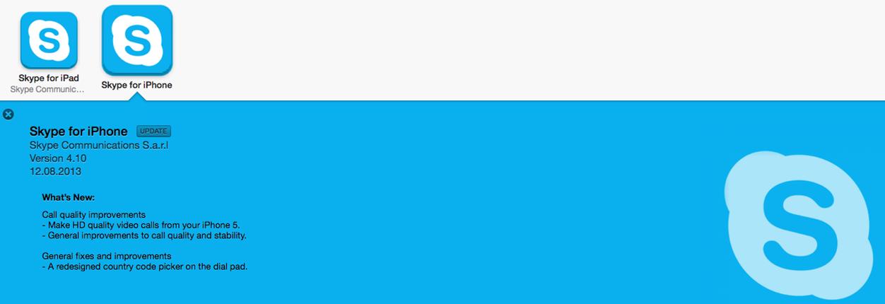 IPhoneBlog de Skype HD