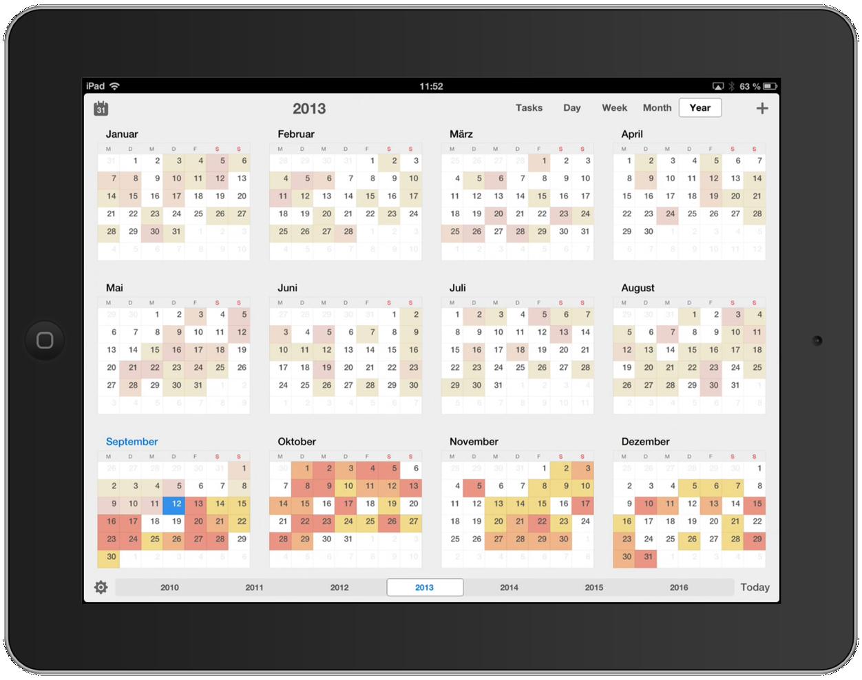 IPhoneBlog de Calendars 5c