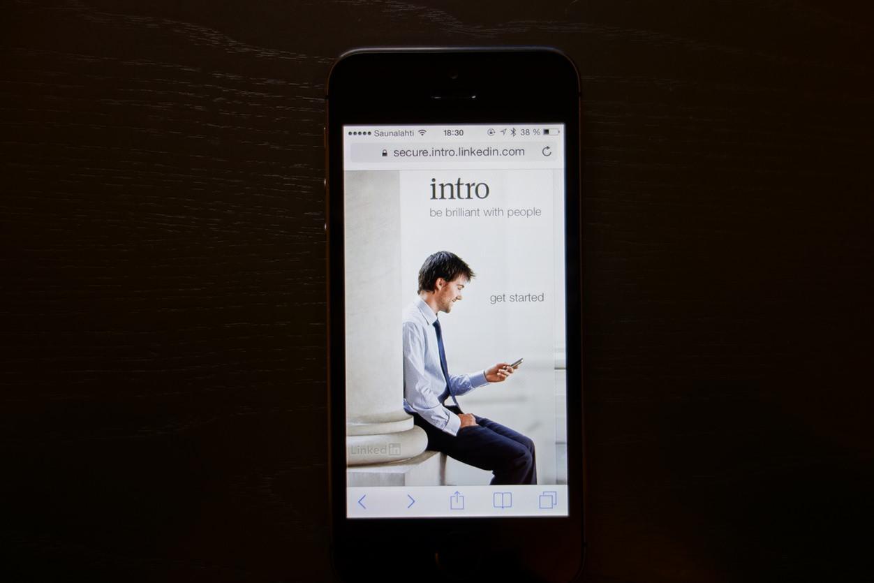 IPhoneBlog de Linkedin Intro