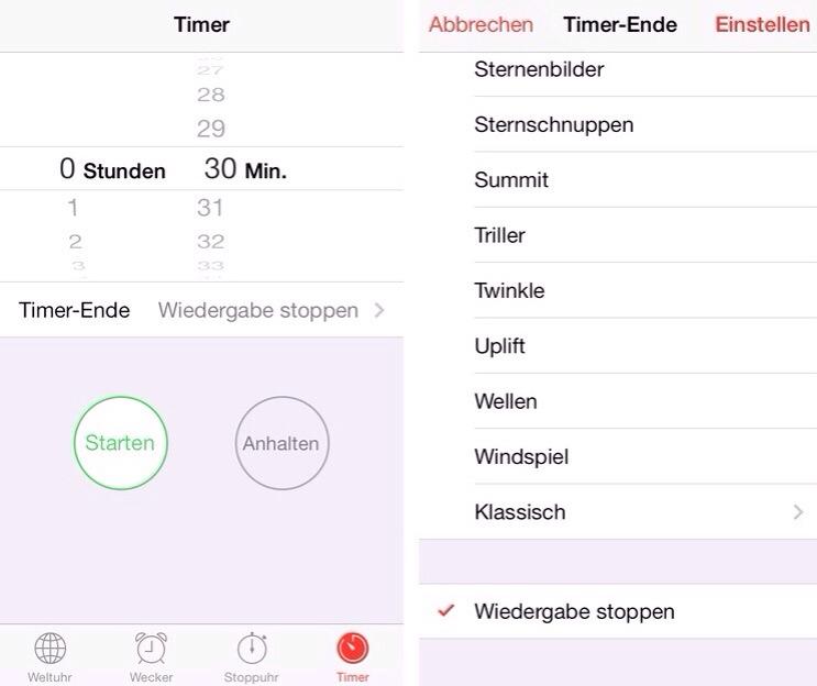 IPhoneBlog de Sleep Timer