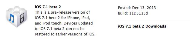IPhoneBlog de iOS 7 1 beta 2