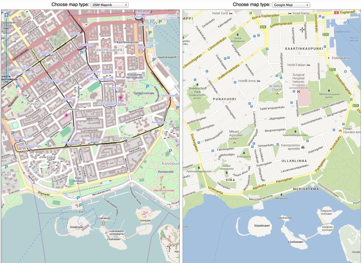 IPhoneBlog de Map Compare