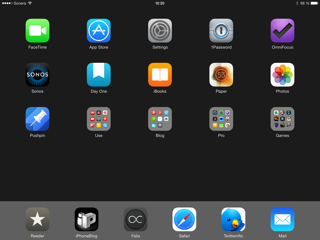 IPhoneBlog de iPad Homescreen Feb 2014