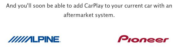 IPhoneBlog de CarPlay Aftermarket