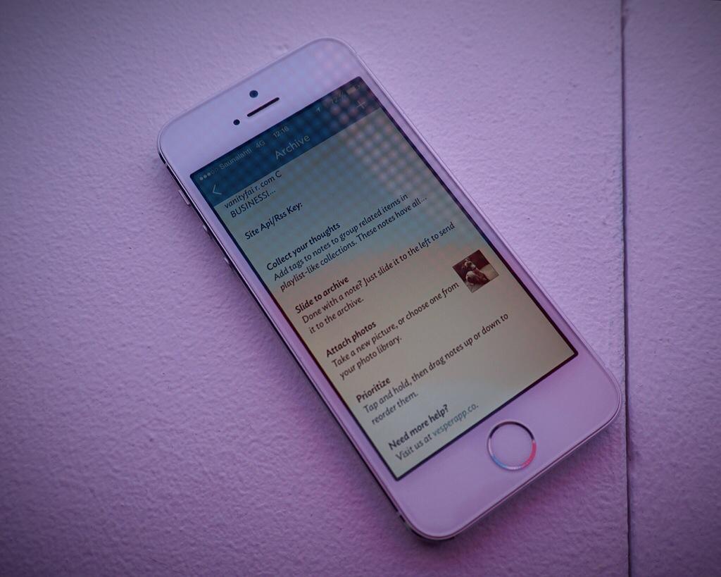 IPhoneBlog de Vesper