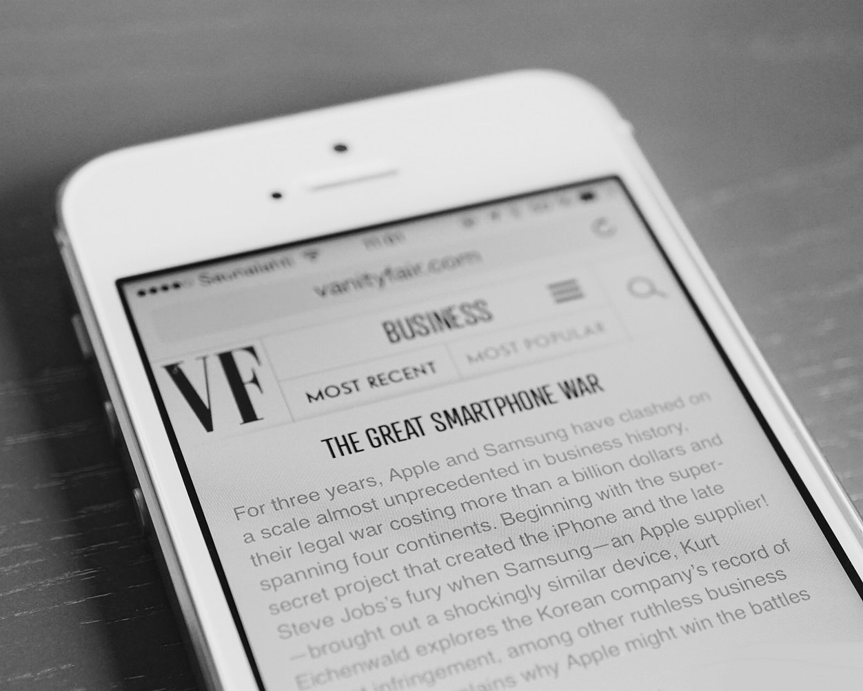 IPhoneBlog de The great smartphone war