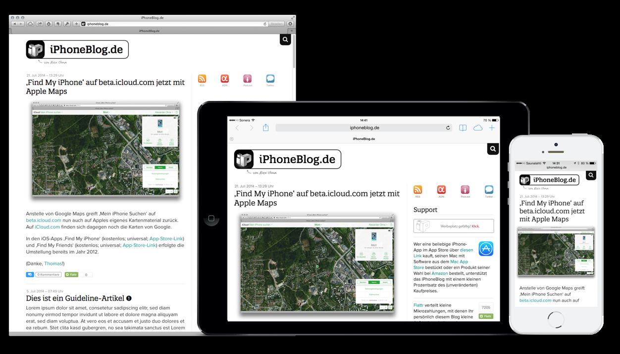 IPhoneBlog de Mac iPad iPhone