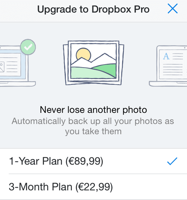 IPhoneBlog de Dropbox Pro New