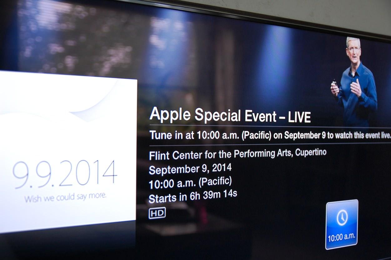 IPhoneBlog de Apple TV Live
