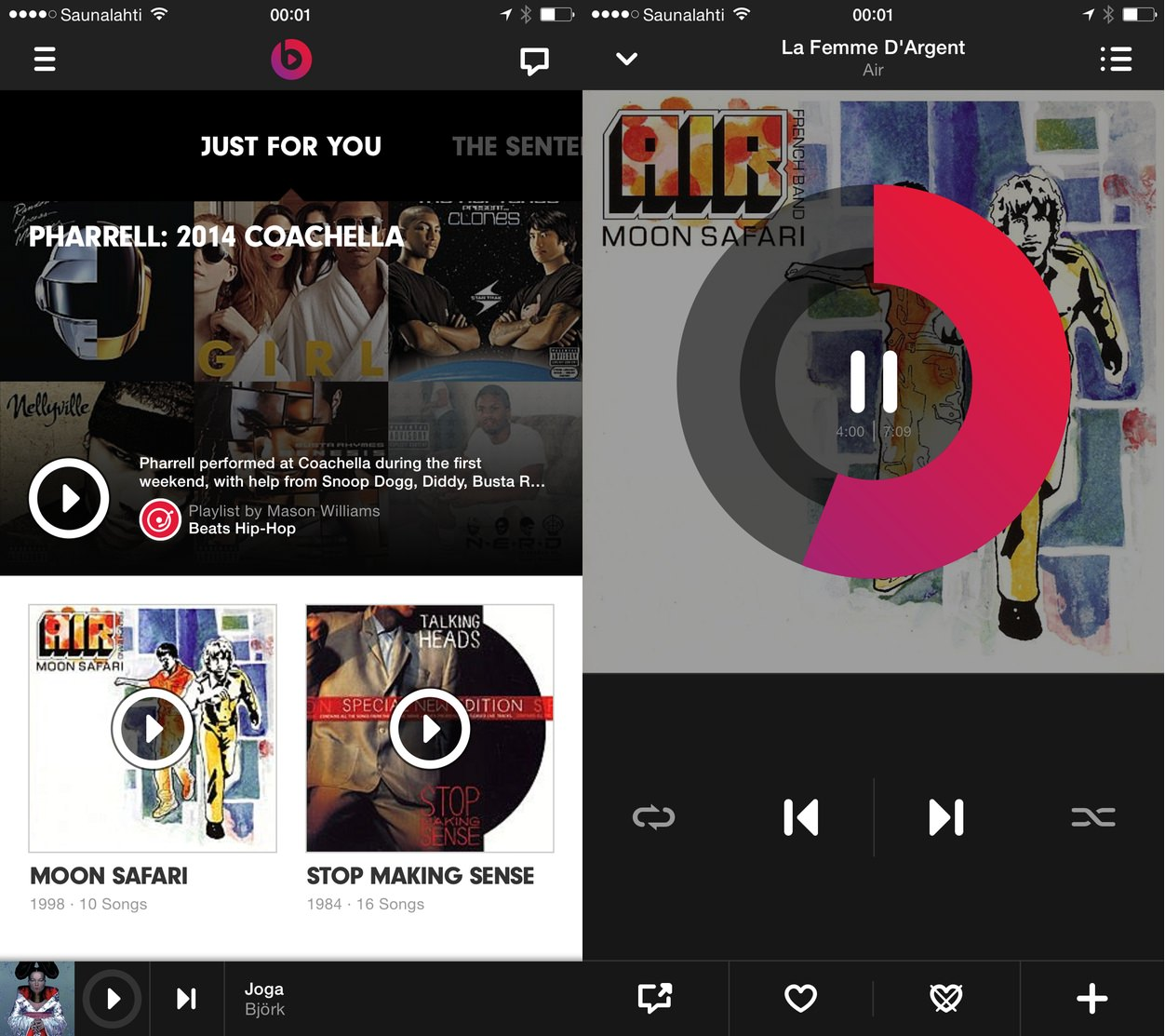 IPhoneBlog de Beats Music