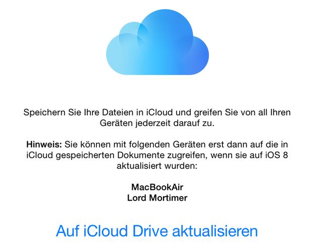 IPhoneBlog de iCloud Drive Upgrade