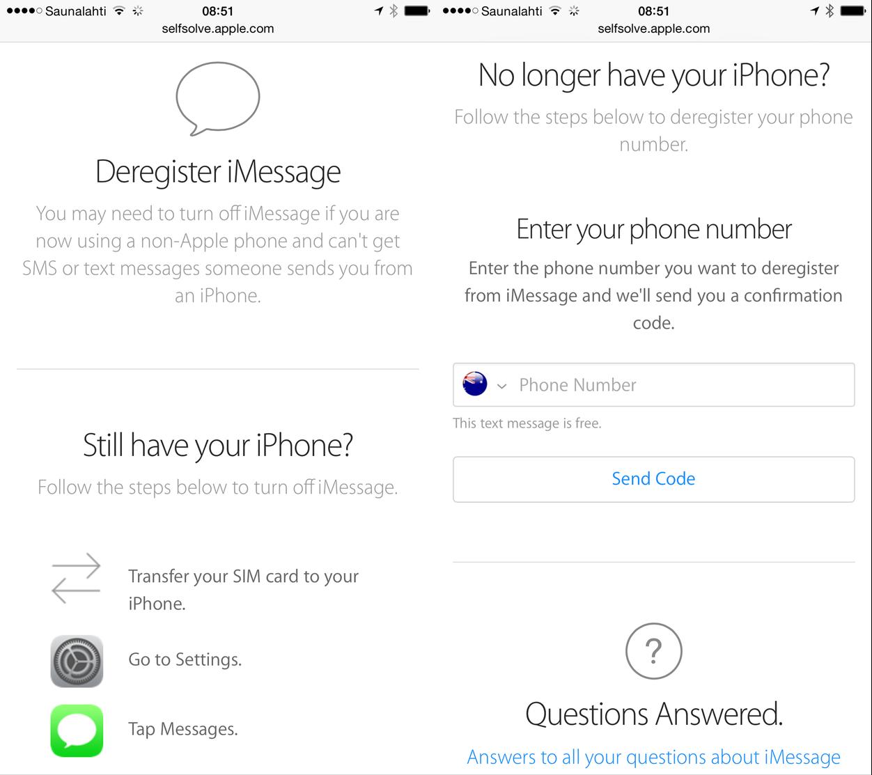IPhoneBlog de Deregister iMessage