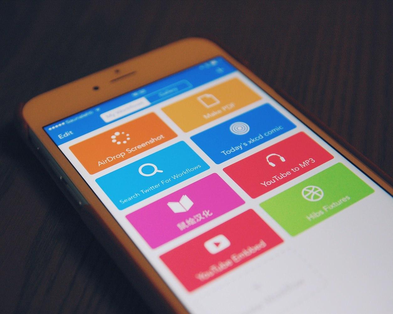 IPhoneBlog de Workflow