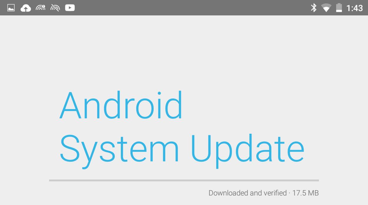 IPhoneBlog de Android System Update