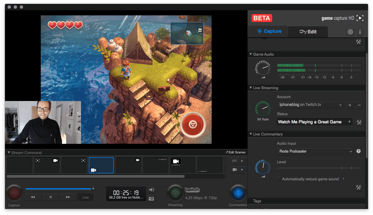 IPhoneBlog de Elgato Game Capture