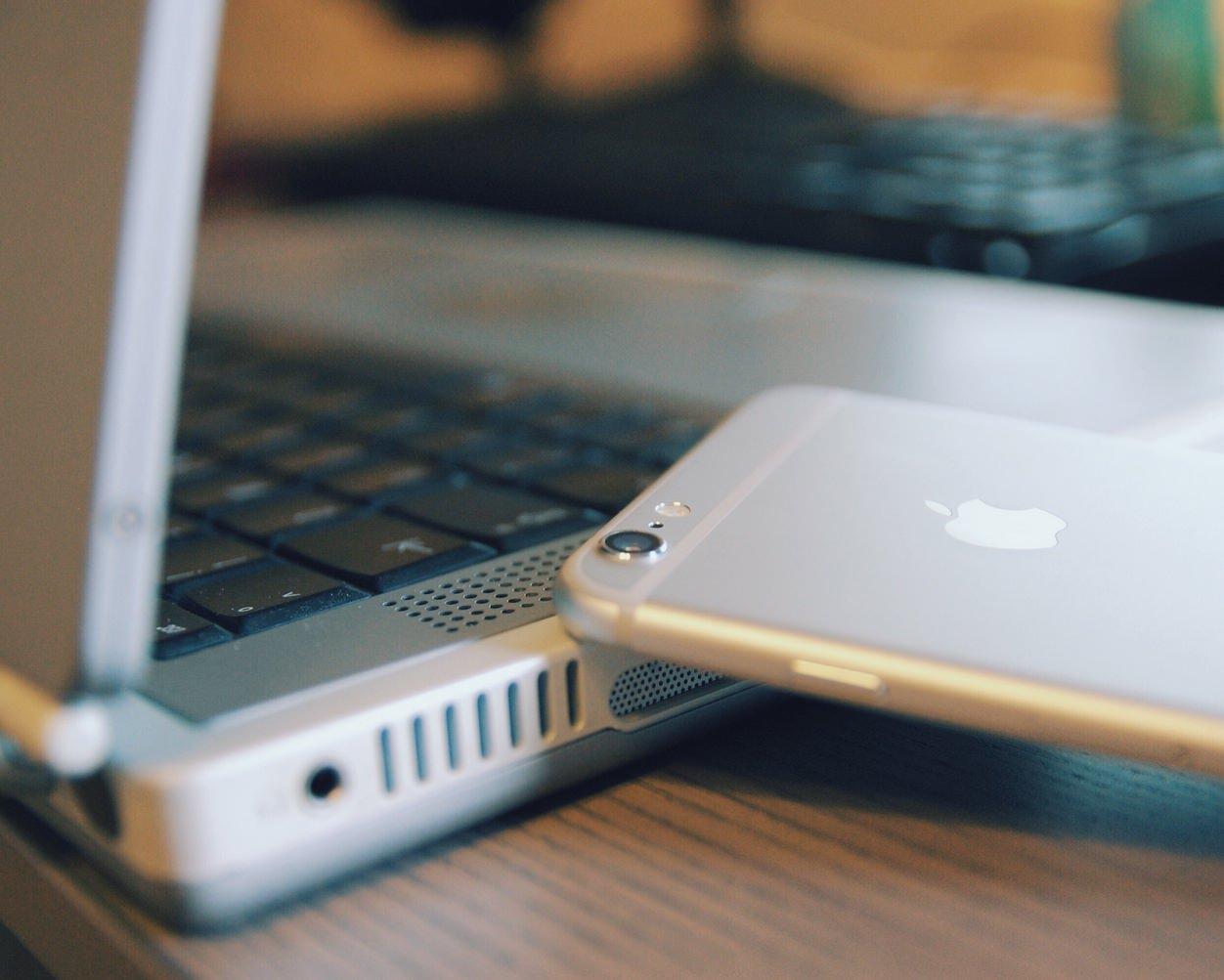 IPhoneBlog de Powerbook G4 plus iPhone 6