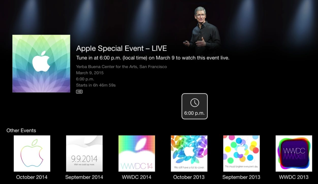 IPhoneBlog de Apple Watch Event