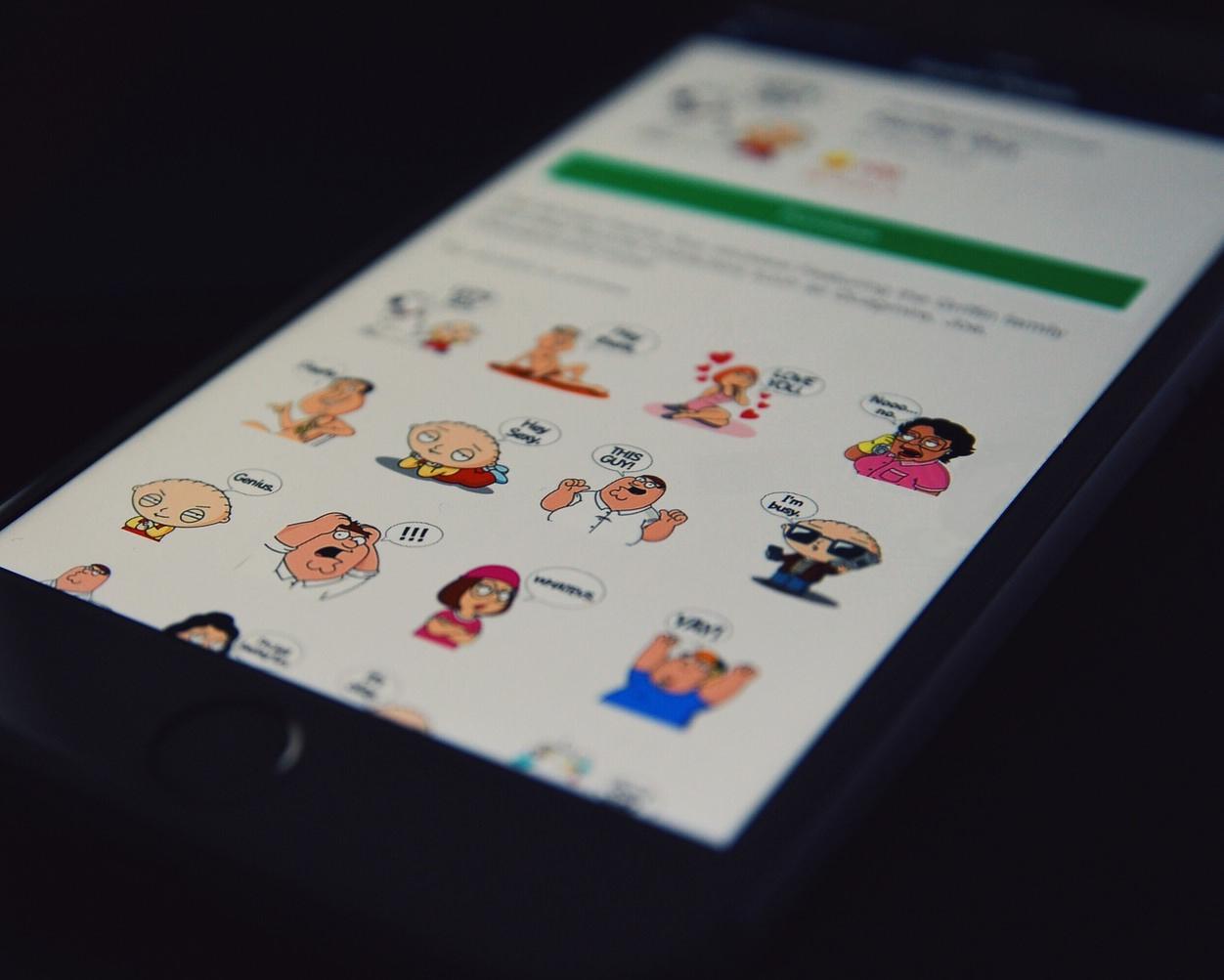 IPhoneBlog de Stickers