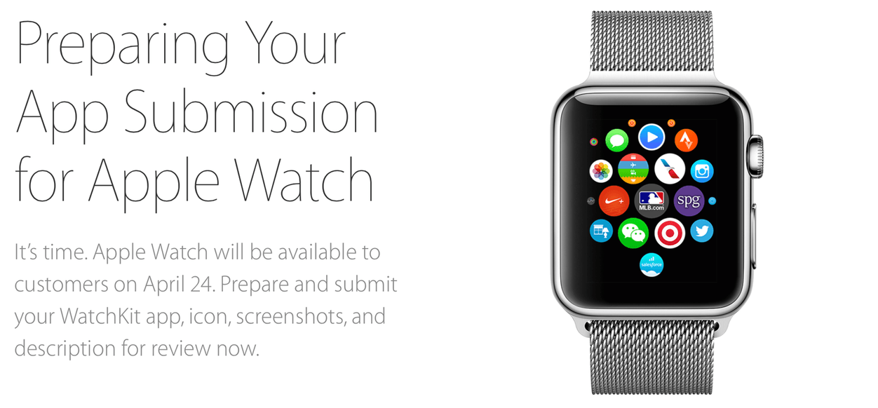 IPhoneBlog de Submit your Watch App Now