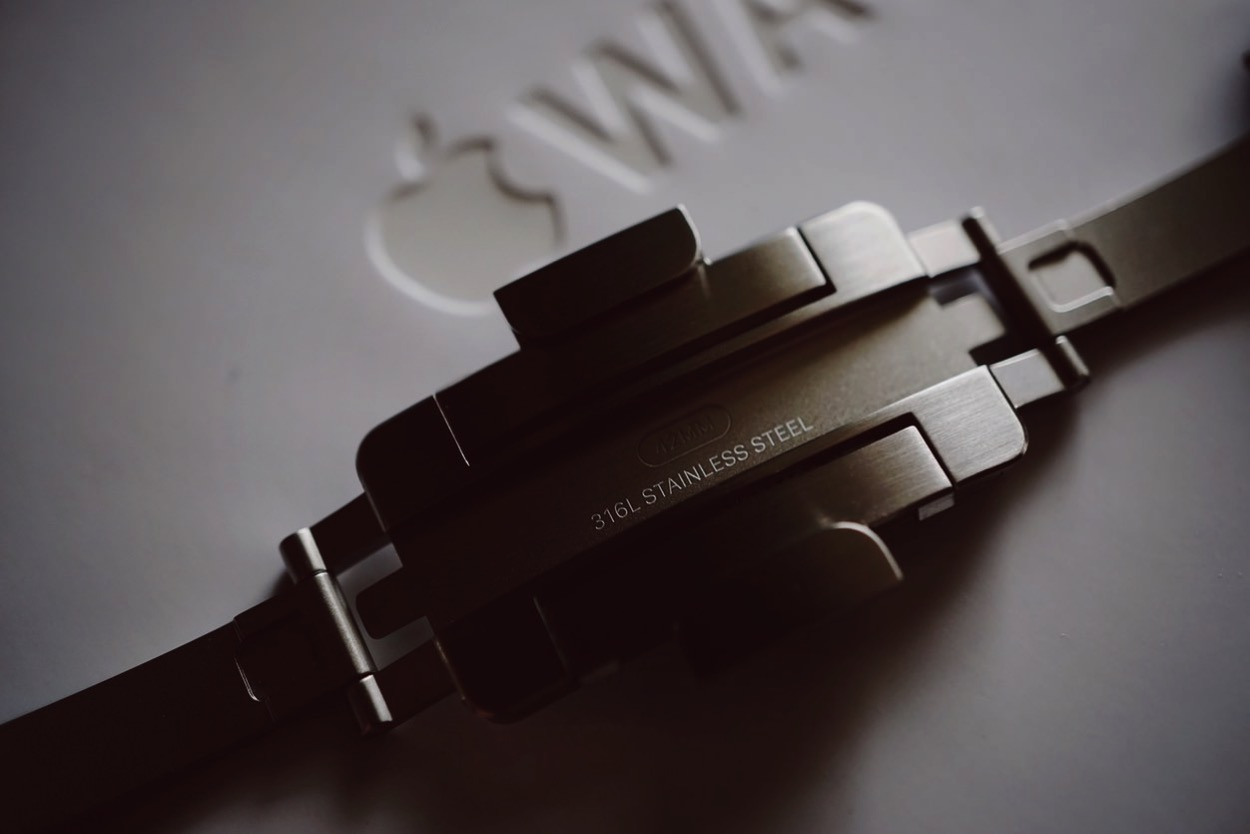 IPhoneBlog de Apple Watch Steel Armband