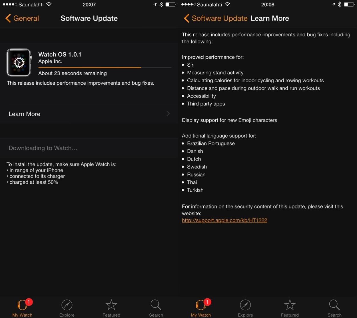 IPhoneBlog de Watch Update