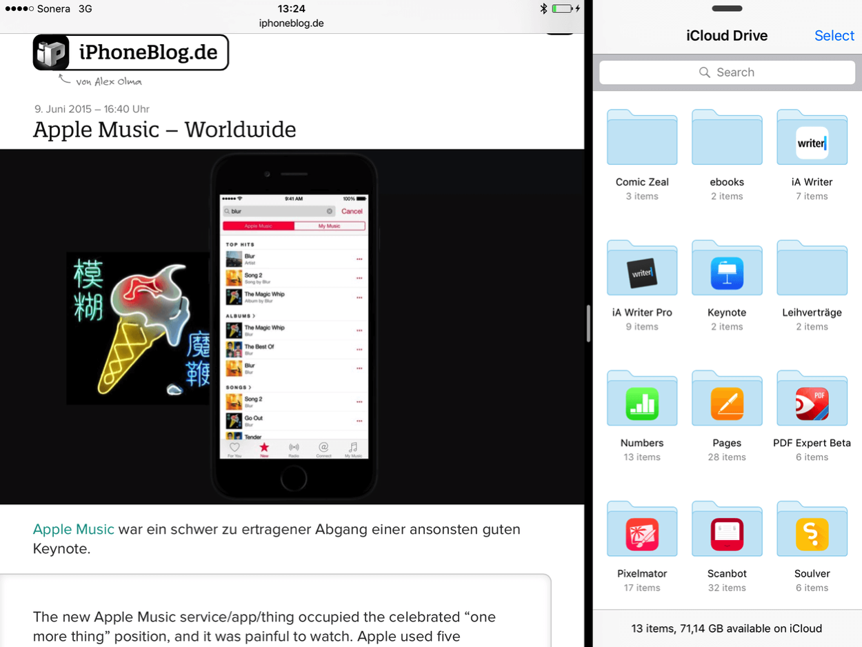 IPhoneBlog de iPad won Keynote a