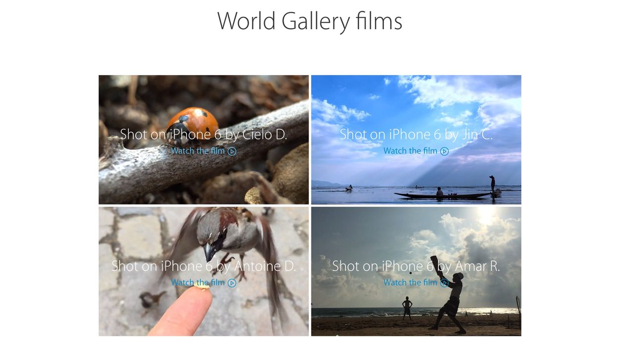 IPhoneBlog de World Gallery films