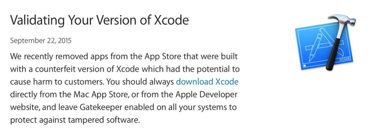 IPhoneBlog de XcodeGhost