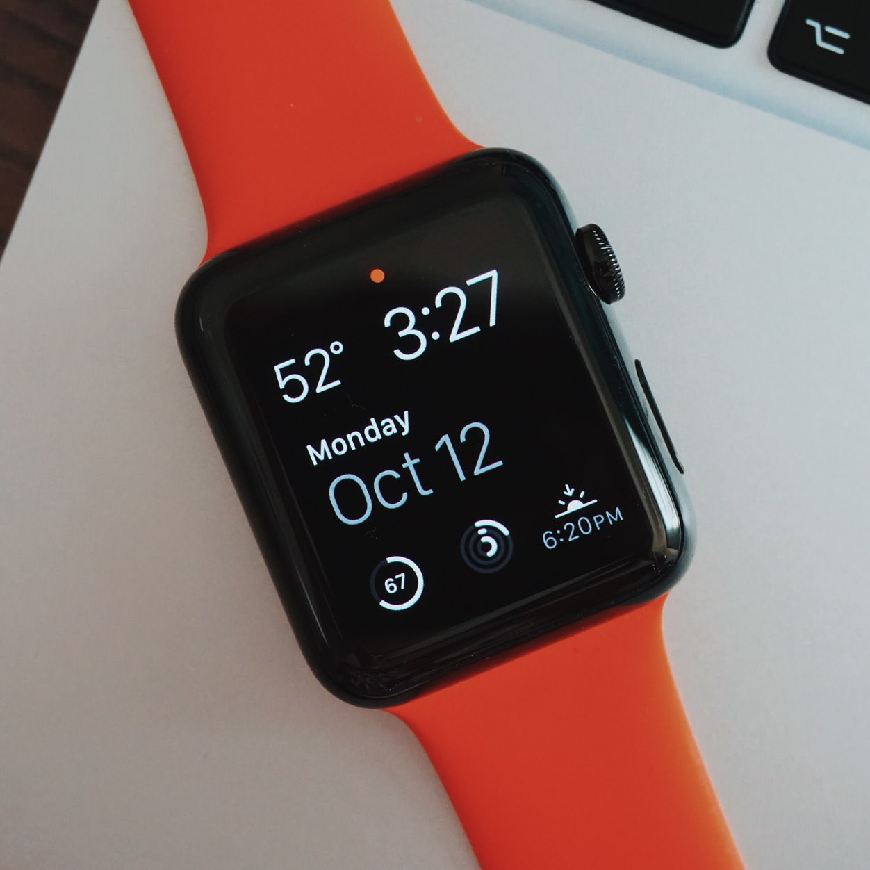 IPhoneBlog de Apple Watch Black Orange