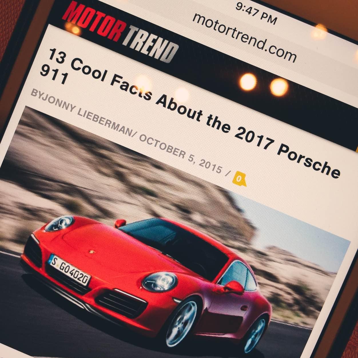 IPhoneBlog de Porsche