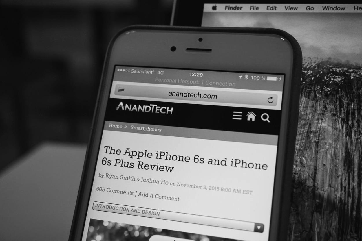 IPhoneBlog de anandtech