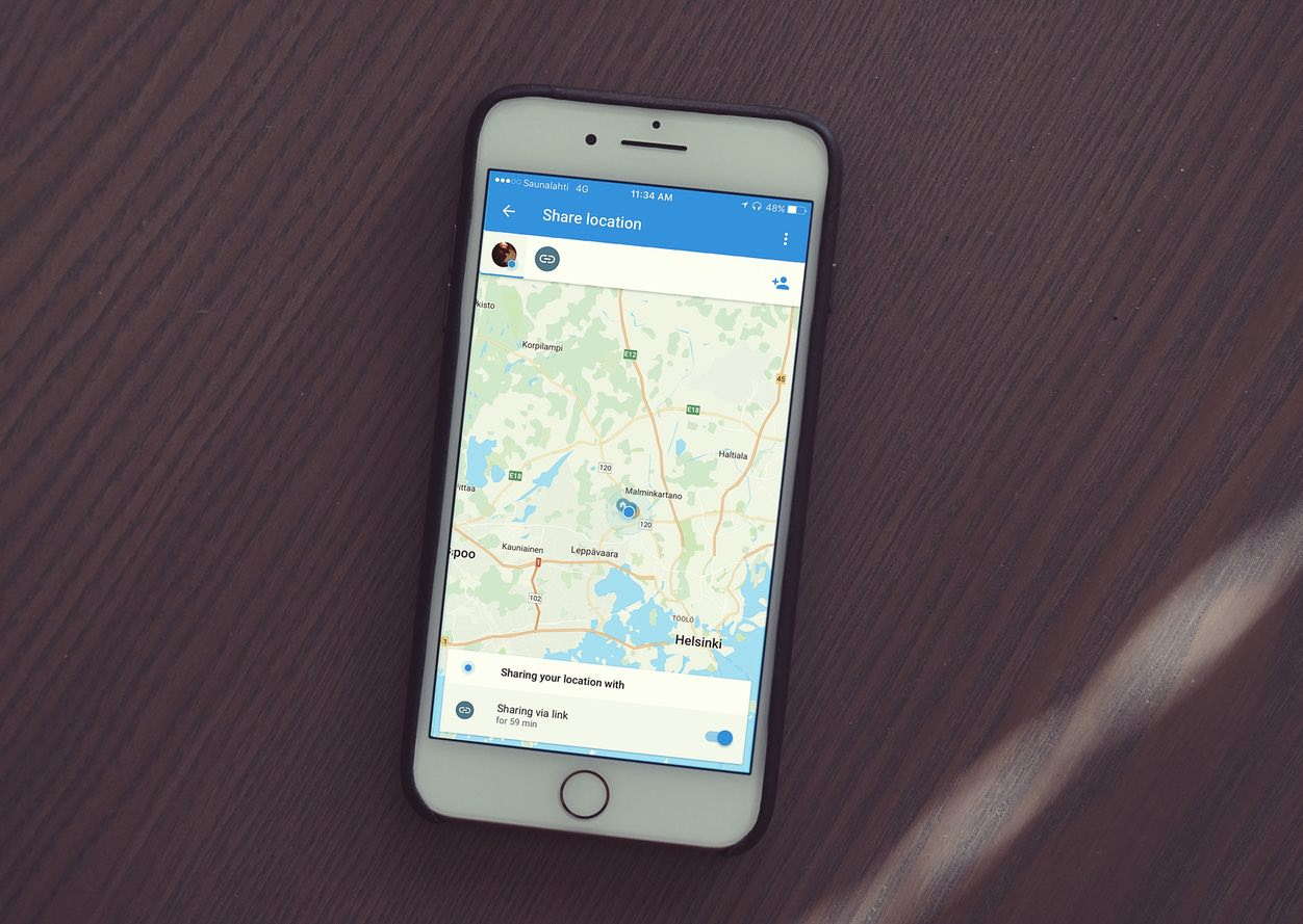 Share your trips and real-time location from Google Maps ... on