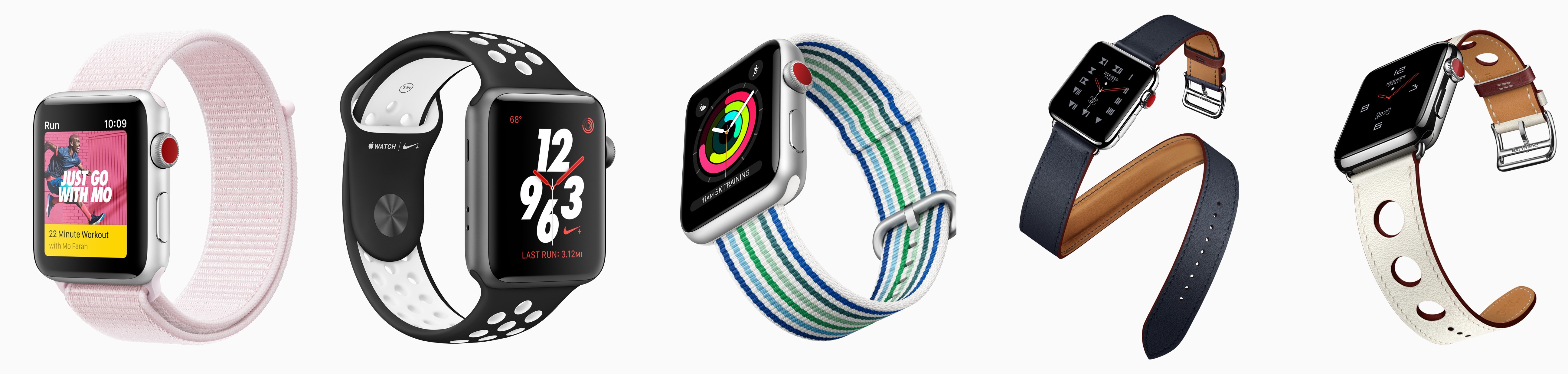 Die Frühlingskollektion neuer Apple-Watch-Armbänder
